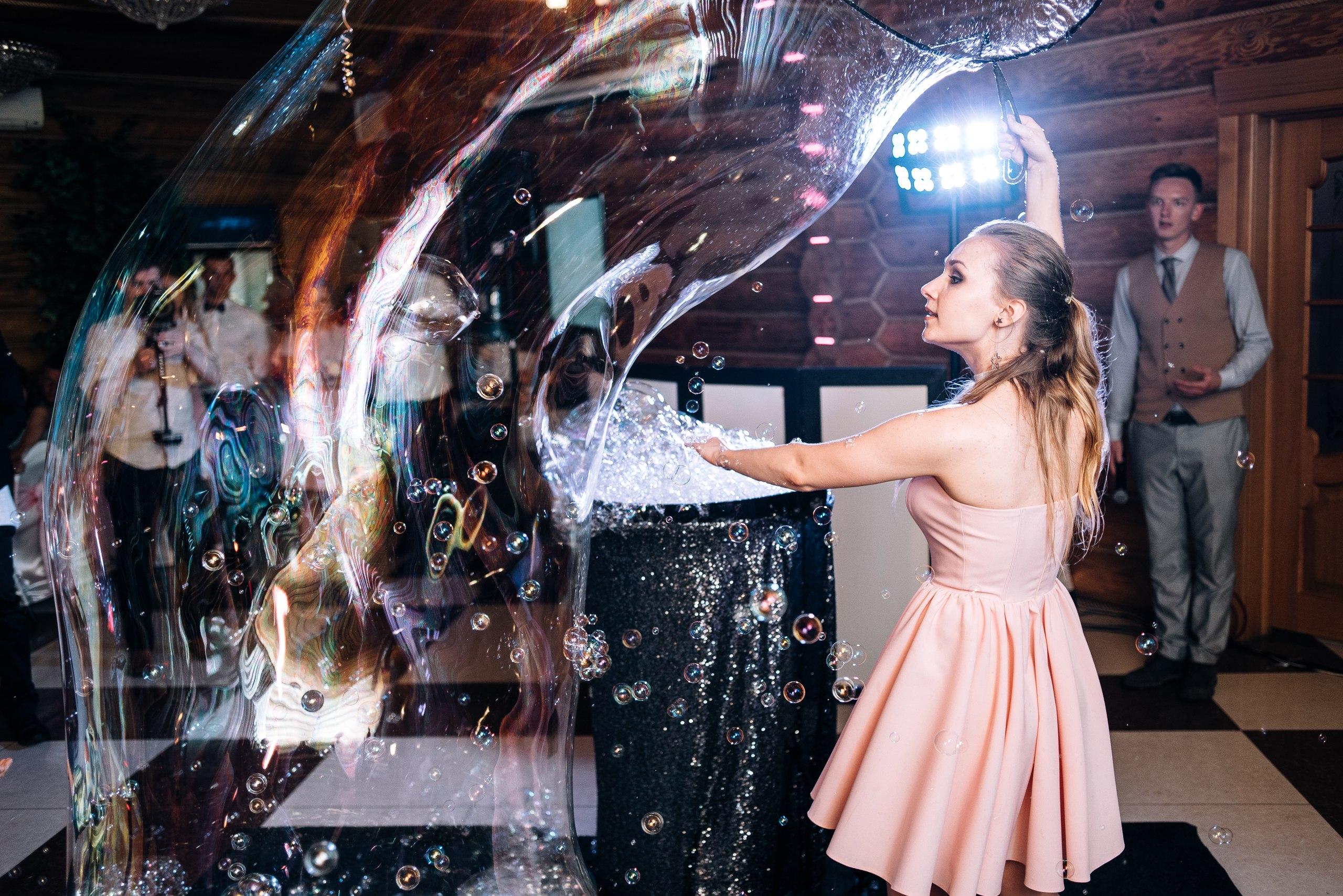 шоу мыльных пузырей иваново