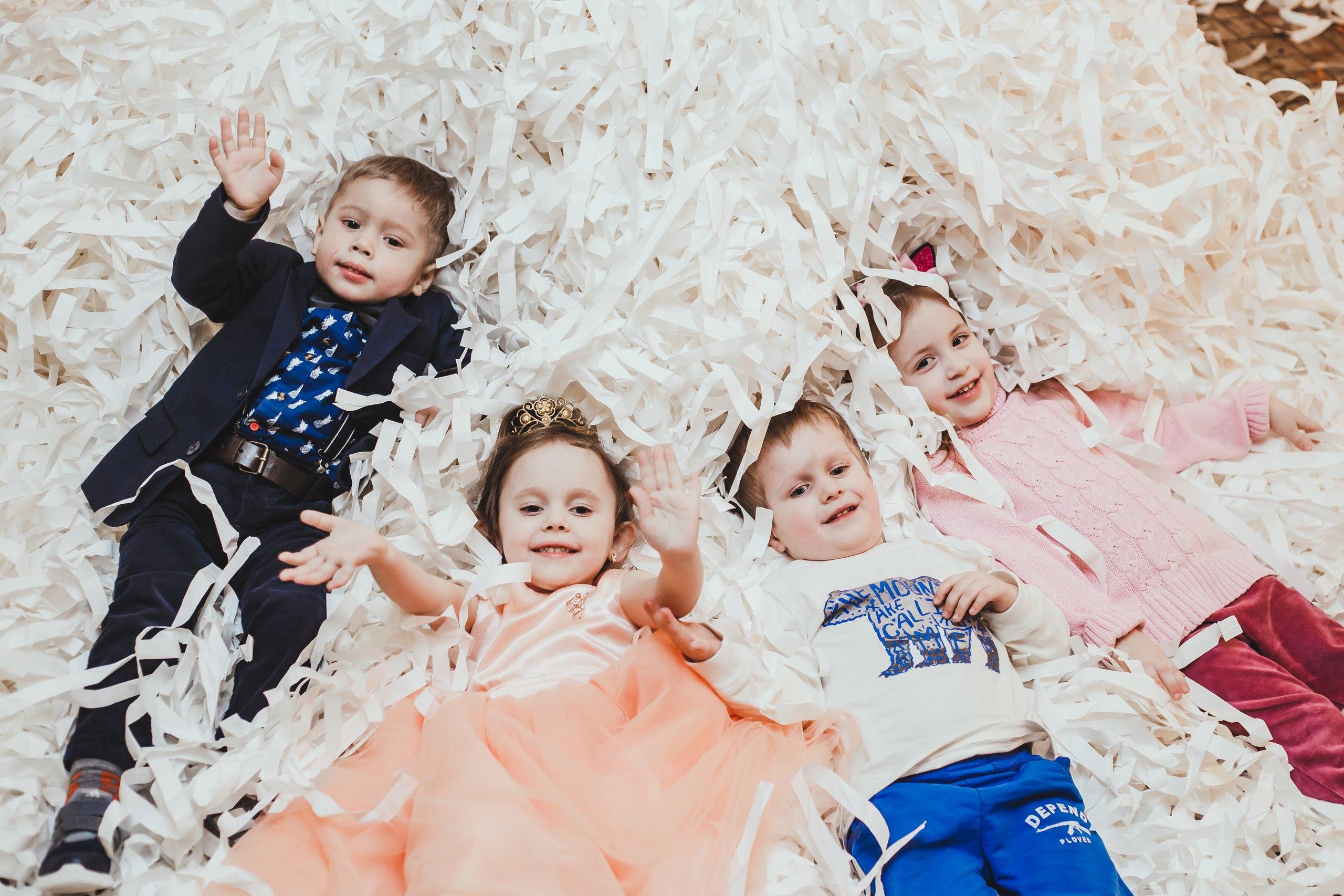 Бумажное шоу на детский праздник иваново